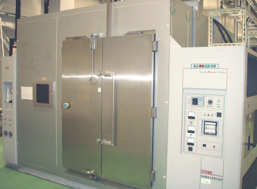 複合環境試験装置(ポリマー材料試験用)