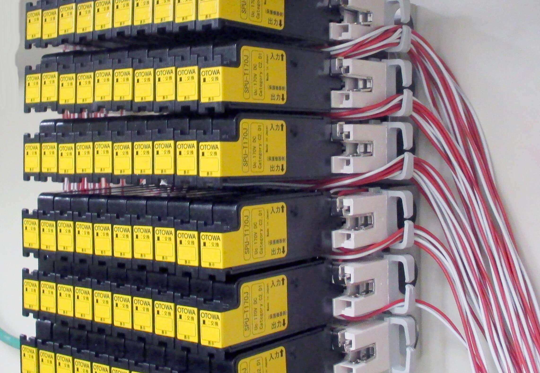 設置例<br>多回線の雷保護に最適です