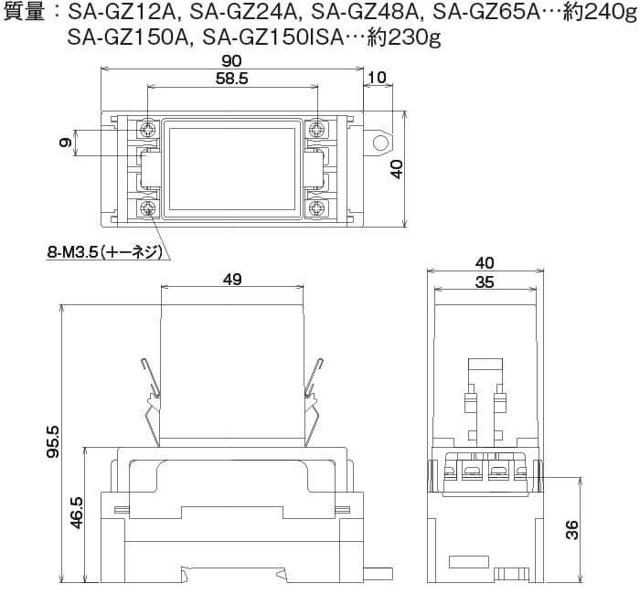 SA-GZAシリーズ