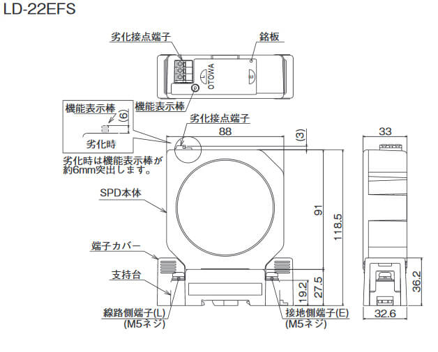 LD-22EFS , LD-25EFSP(保守製品)