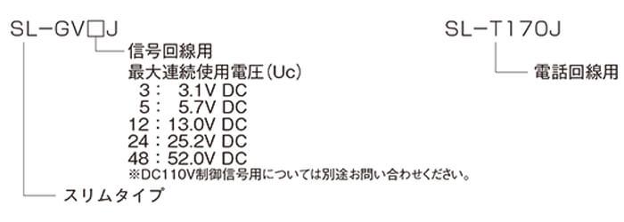 SL-GVJシリーズ,SL-TJシリーズ