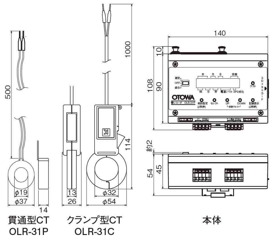 OLR-31C,OLR-31P