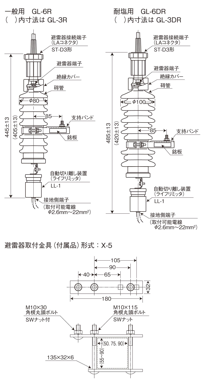 GL-3R、GL-3DR、GL-6R、GL-6DR