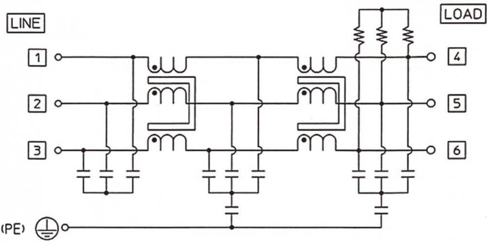 HF3000C-SZA回路図