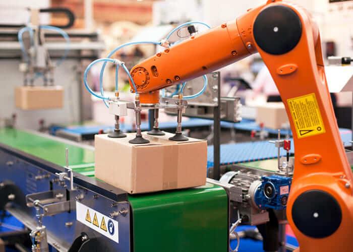 産業用ロボットの雷対策