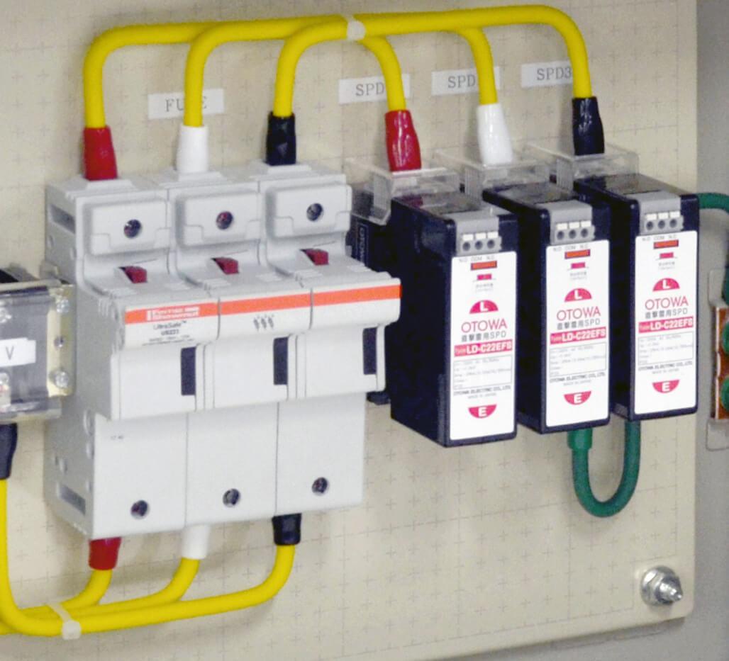 設置例(LD-C22EFS、SPD外部分離器)